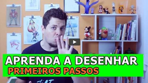 APRENDA A DESENHAR PRIMEIROS PASSOS