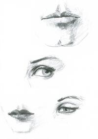 Desenho Faces