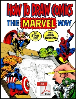 How To Draw Comics the Marvel way1 60+ LIVROS DE DESENHO GRÁTIS