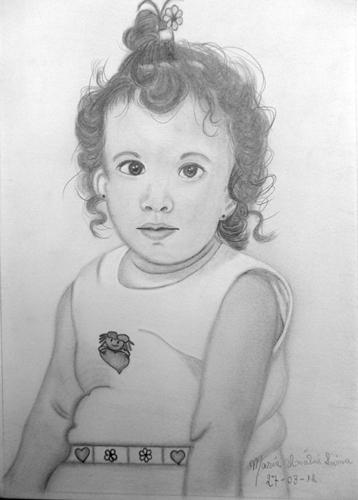 Desenho Realista de Anália