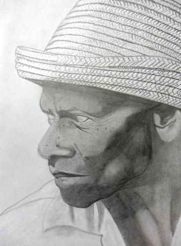 Desenho Realista de Jorge Luiz