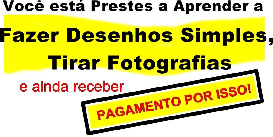 COMO GANHAR DINHEIRO COM DESENHOS E FOTOS