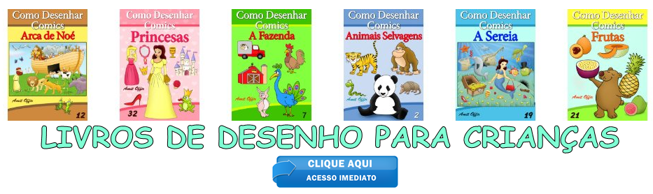 LIVROS DE DESENHO PARA CRIANÇAS