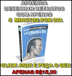 DESENHAR RETRATOS 5 MINUTOS POR DIA- BANNER
