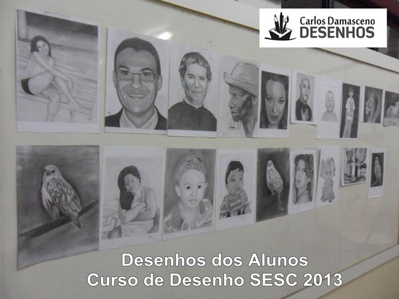 Alunos Carlos Damasceno Desenhos