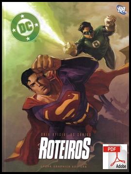 CAPA GUIA OFICIAL DC COMICS ROTEIRO 60+ LIVROS DE DESENHO GRÁTIS