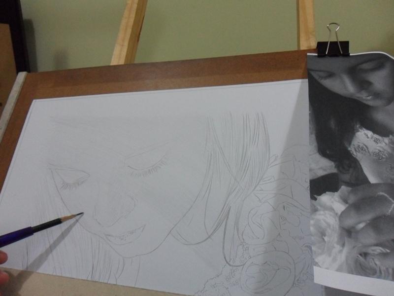 Desenho realista Brisa 2