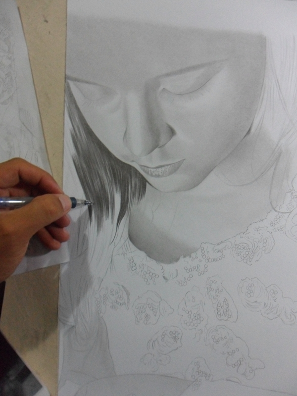 Desenho realista Brisa 6