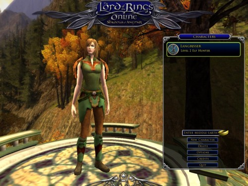 Character-Screen