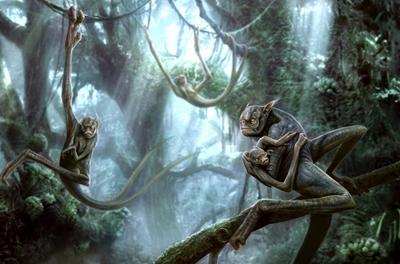criatura da floresta