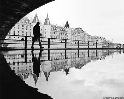 reflexo na água