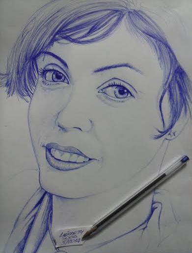 Carlos esse desenho é novo feito com caneta bic. Não sou acostumado a desenhar com caneta. Espero que você goste pra expor no seu mural. Obrigado