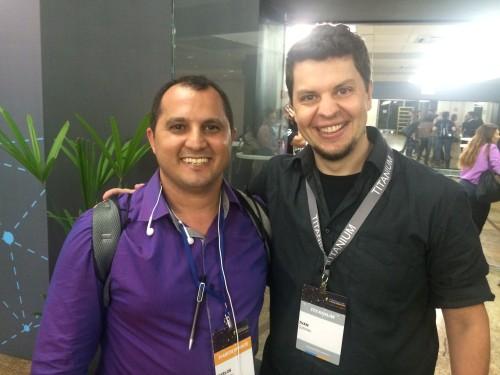 Carlos Damasceno e Ivan Querino
