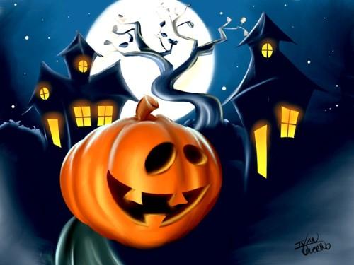halloween1 - desenhos de Ivan Querino