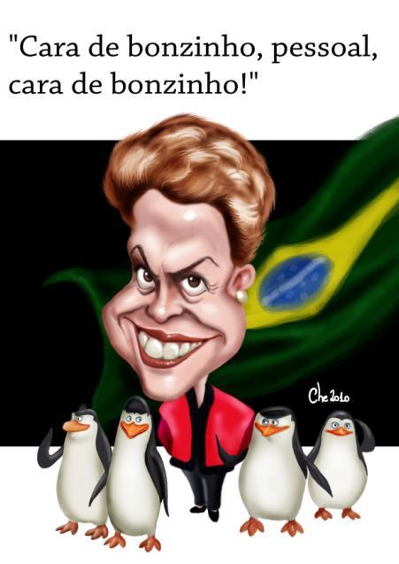 Caricatura de Cheversson Chagas 6