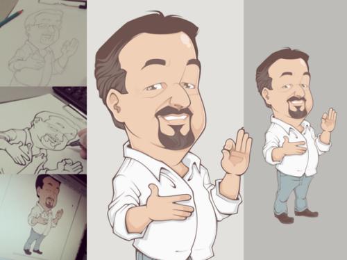 Desenhos de Bruno Santana 9