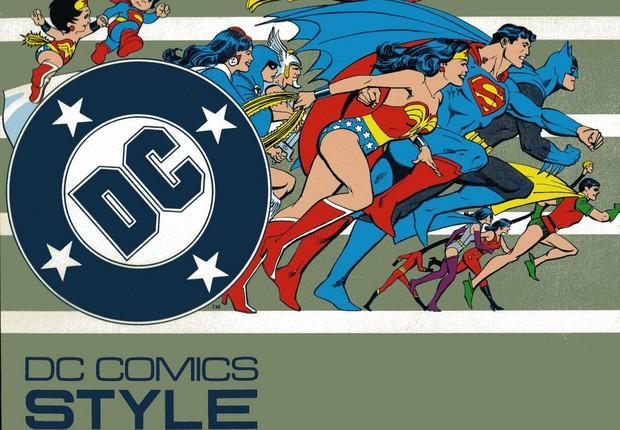 O Guia de estilo da DC - a bíblia de referências de como os personagens da casa devem ser retratados (Foto: Divulgação)