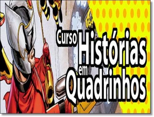 Curso Online de HISTÓRIAS EM QUADRINHOS