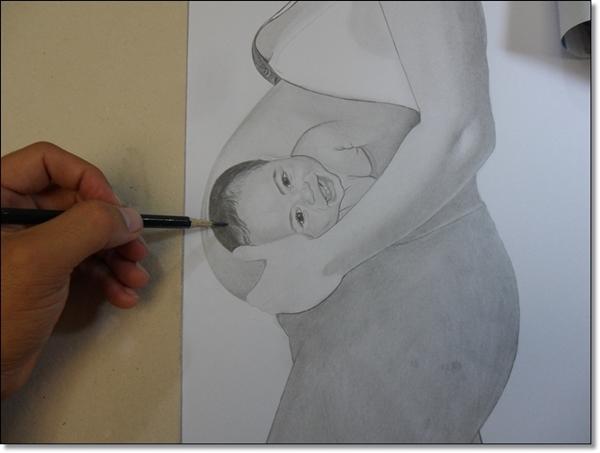 Desenho Realista Vanessa 4