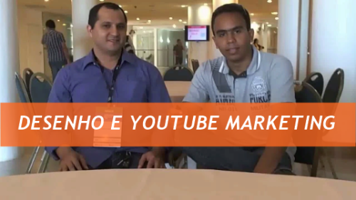 Desenho e YouTube Marketing