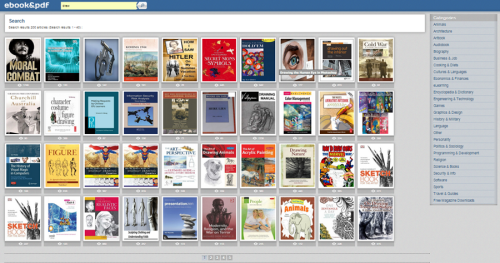 site ebook e pdf