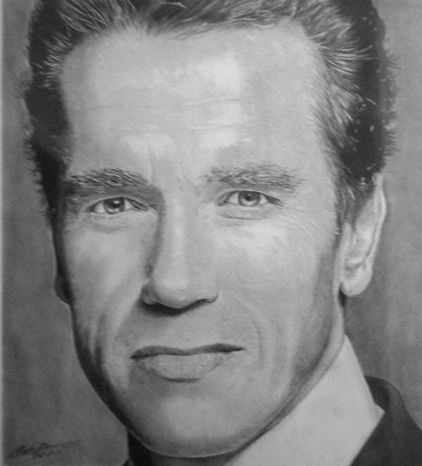Desenho Realista Arnold 2