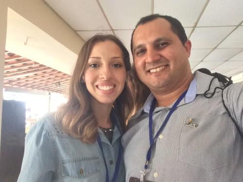 Tácia Duarte e Carlos Damasceno
