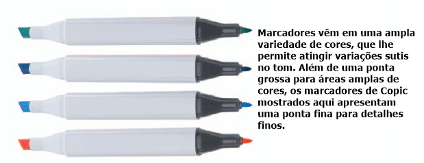 canetas copic