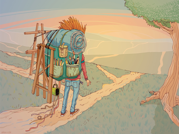 ilustração de alex cói 2