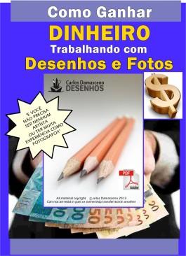 CAPA DO LIVRO COMO GANHAR DINHEIRO COM DESENHO