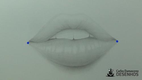 como desenhar boca 1
