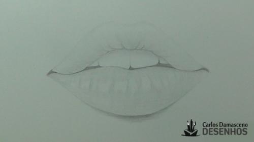 como desenhar boca 10
