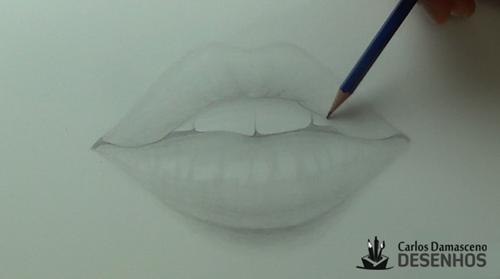 como desenhar boca 12