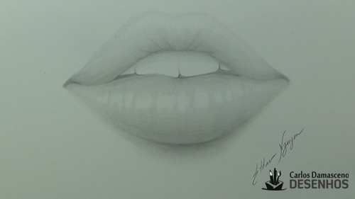 como desenhar boca 13