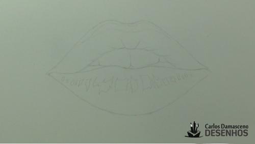como desenhar boca 4