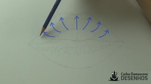 como desenhar boca 5