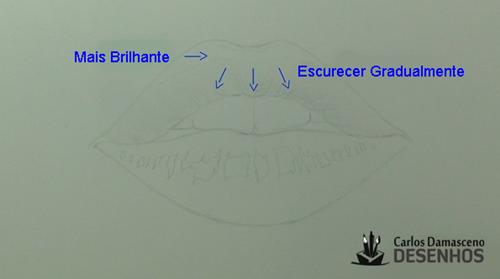 como desenhar boca 6