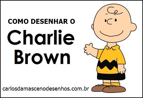 Como Desenhar O Charlie Brown Do Desenho Animado Snoopy Aulas