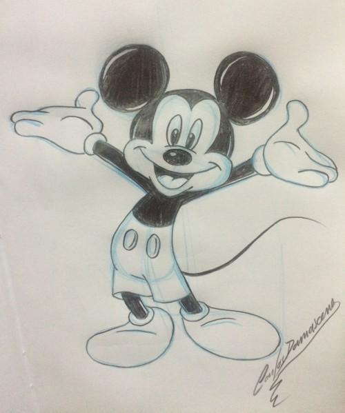 Mickey Mouse - Como Desenhar