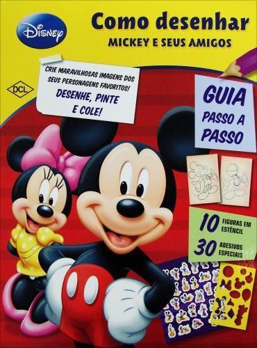 como desenhar o Mickey e seus amigos