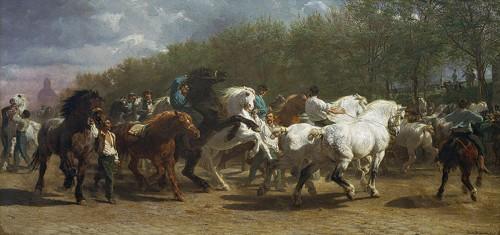 Rosa Bonheur -The Horse Fair
