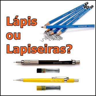 Qual é o melhor Lápis ou lapiseira E qual é o melhor grafite para desenhar 1x1