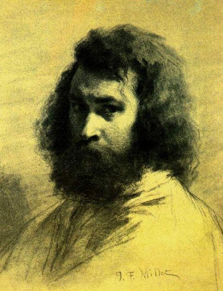 460px-Jean-François_Millet._Auto-retrato