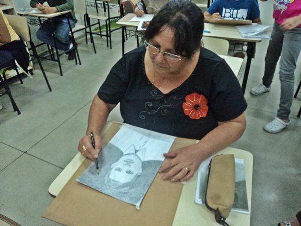 Conceição - Carlos Damasceno Desenhos Realista