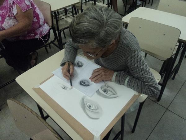 Dona Lair - Desenho Realista de Carlos Damasceno