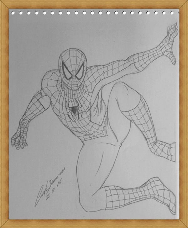 homem-aranha-em-lapis-by-carlos-damasceno-desenhos-realista