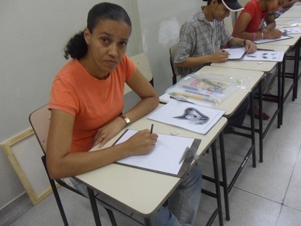 Rosangela - Carlos Damasceno Desenhos Realistas