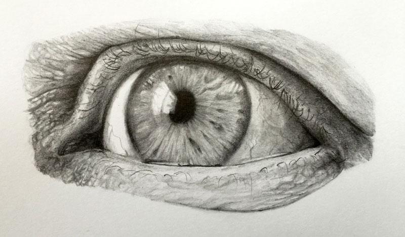 Tutorial E Book Grátis Como Desenhar Um Olho Realista