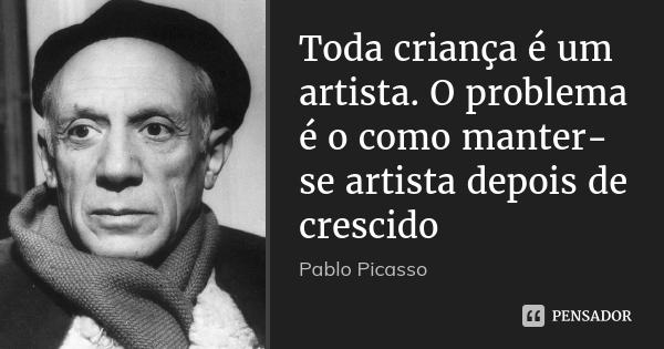 Aprender a desenhar - Pablo Picasso