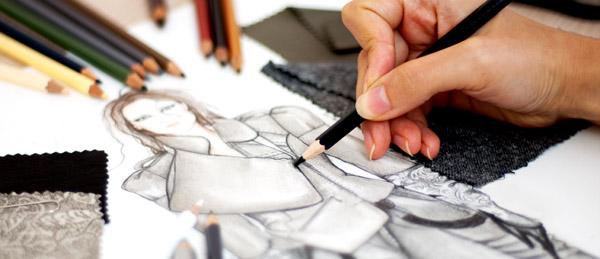 Como Ganhar Dinheiro com Desenho e Pintura: Dica # 4 - Designer de Moda